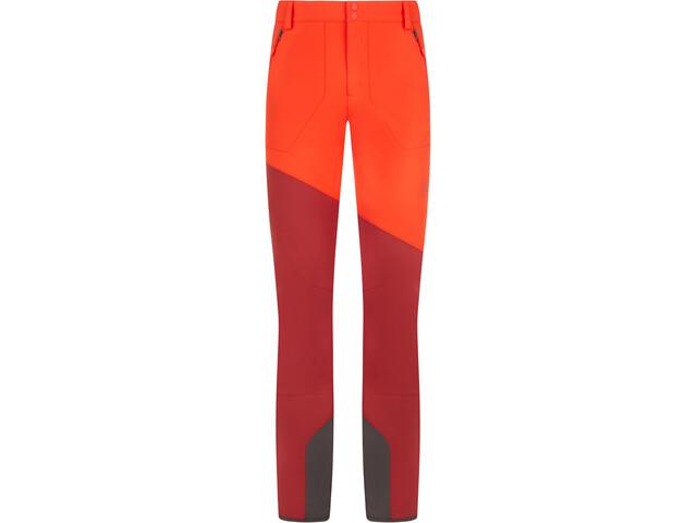 La Sportiva Axiom Pantaloni Uomo, poppy/chili